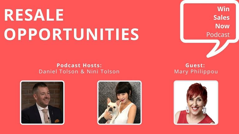 """Podcast Interview - """"Resale Opportunities"""" with Mary Philippou, Nini Tolson & Daniel Tolson"""