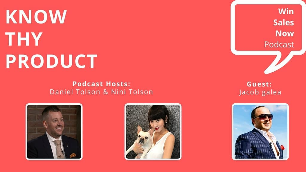 "Podcast Interview - ""Know Thy Product"" with Jacob Galea, Nini Tolson & Daniel Tolson"