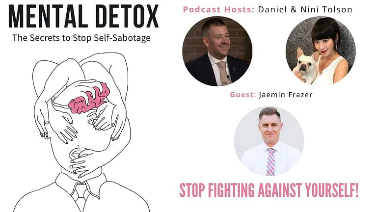 "Podcast Interview - ""Stop Fighting Against Yourself"" with Jaemin Frazer, Nini Tolson & Daniel Tolson"