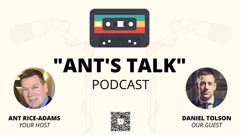 """Podcast Interview - """"Pawn Star to Million-Dollar Coach"""" with Daniel Tolson & Ant Rice-Adams"""