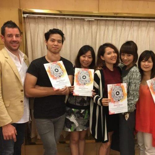 Daniel Tolson - Business Coach - 2017 - The Sucess Breakthrough Taiwan