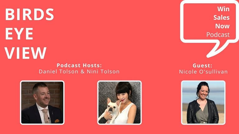 "Podcast Interview - ""Birds Eye View"" with Nicole O'Sullivan, Nini Tolson & Daniel Tolson"