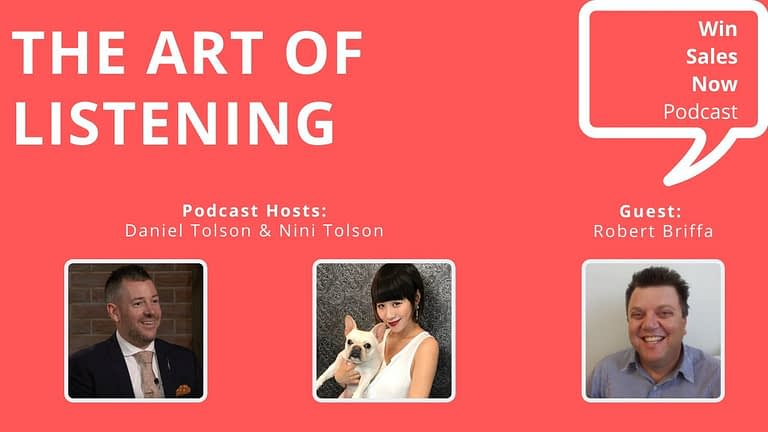 "Podcast Interview - ""The Art of Listening"" with Robert Briffa, Nini Tolson & Daniel Tolson"