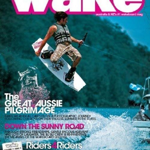 Daniel Tolson - Business Coach - 2006 - Wake Magazine Cover