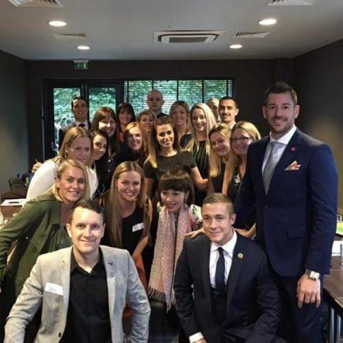 Daniel Tolson - Business Coach - 2016 - Eat That Frog! in Farnborough UK