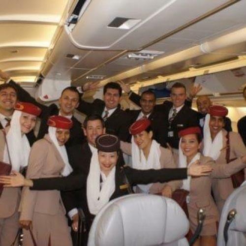 Daniel Tolson - Business Coach - 2012 - Last Emirates Flight